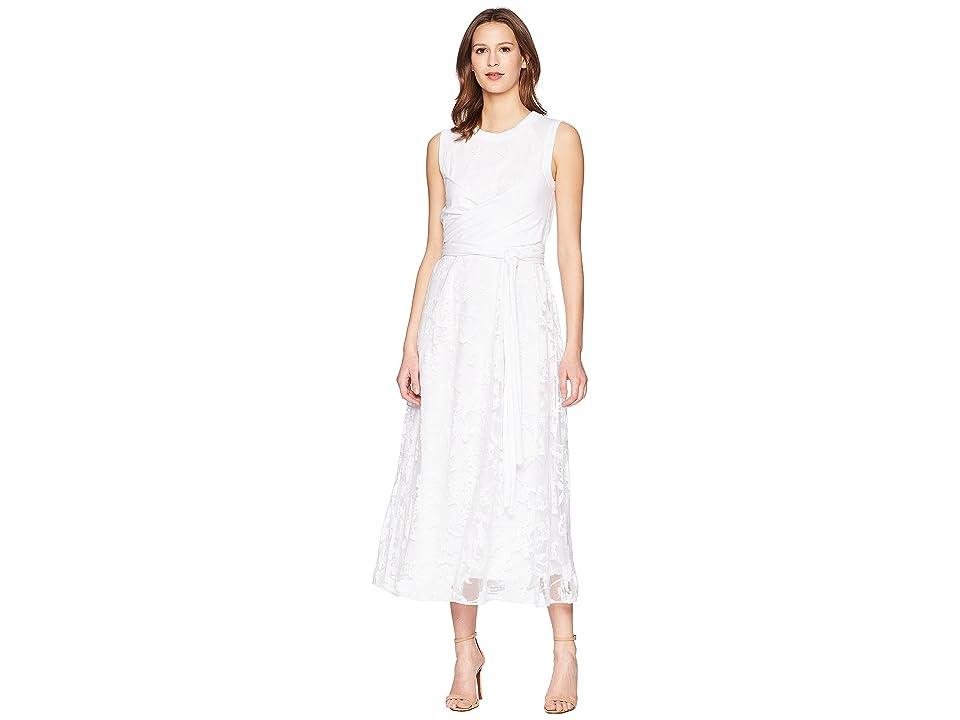 Sportmax Paraggi Wrap Front Dress (White) Women