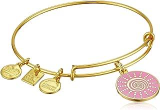 Women's Charity by Design - Spiral Sun Expandable Charm Bangle Bracelet