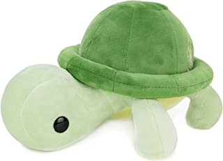 Green Turtle Cute Stuffed Animal Plush Toy - Adorable Soft Turtle Toy Plushies and Gifts - Perfect Present for Kids, Babie...
