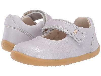 Bobux Kids Step Up Delight Mary Jane (Infant/Toddler) (Silver Shimmer 1) Girl