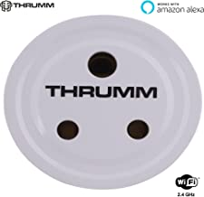 Thrumm WiFi Smart Plug, Compatible with Amazon Alexa, Indian PINS, Voice Controlled, NO HUB Required, Mobile Phone Control from Anywhere Anytime, Scheduling/Timing Function