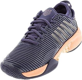 حذاء تنس Hypercourt Supreme للسيدات من K-Swiss (Graystone/Nectar Peach