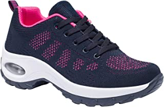 GZTEESER Comfortable Walking Shoes for Womens Wide Width Casual Fashion Sock Sneakers
