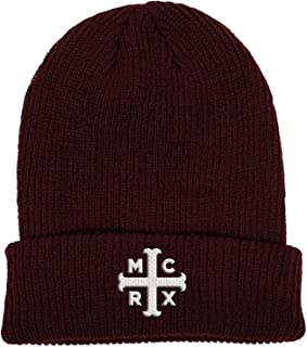 Beanie Hat Mcrx Band Logo Official Marroon Purple