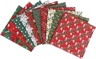 Colcolo Tecido de Algodão de Natal 10x para Toalha de de Avental Vestido