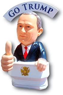 Bobble Fingers Vladimir Putin Bobble Doll - Bobblehead Style GO Trump Thumbs UP BOBBLING Hands - Limited Edition Large Statue Gift Box