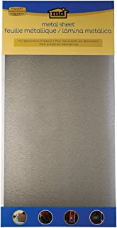 M-D Hobby & Craft 57321 Galvanized Steel Hobby Sheet