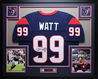 jj watt autographed photo