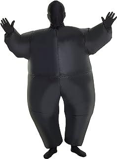 MorphCostumes Black MegaMorph Kids Inflatable Blow up Costume - One Size