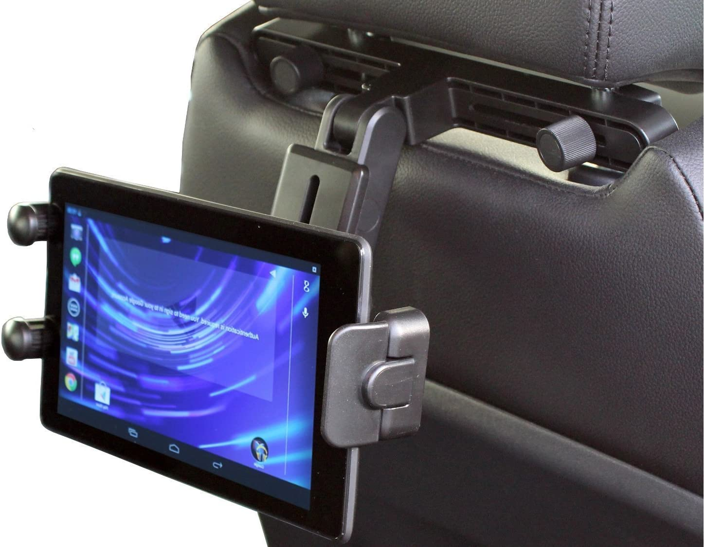 Navitech in Complete Free Shipping Car Portable Tablet Head Rest Indefinitely Holder Headrest Mount