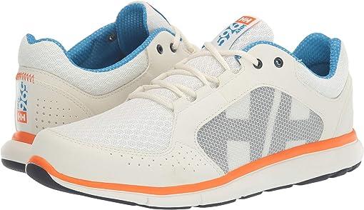 Off-White/Racer Blue/Blaze Orange
