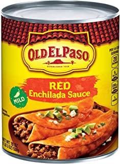 Old El Paso Enchilada Sauce, Mild, Red, 19 oz Can
