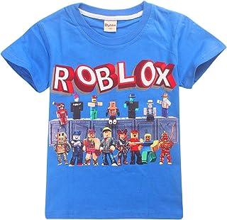 Camiseta Roblox de algodón transpirable para juegos en
