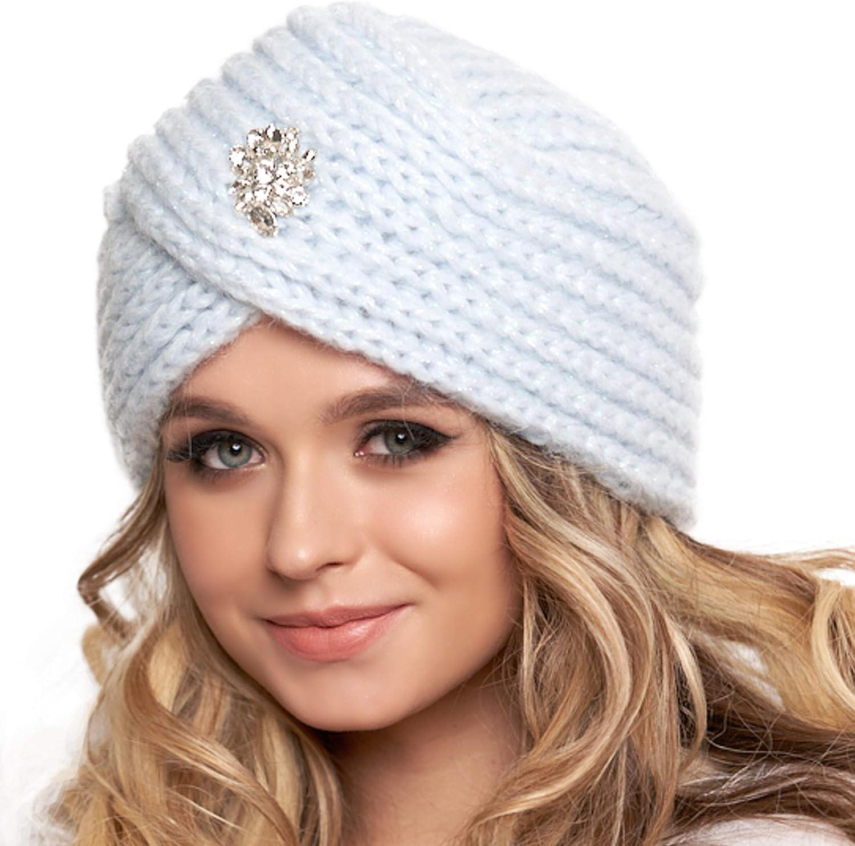 full turban hat Knit turban hat gift idea women hat knit beanie warm head wear handmade turban green winter hat knitted women/'s hat