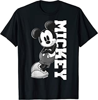 Disney Mickey And Friends Mickey Leaning Portrait T-Shirt