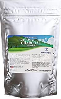 Best Hardwood Activated Charcoal Powder 100 Percent from USA Trees 8 oz. All Natural. Whitens Teeth, Rejuvenates Skin and Hair, Detoxifies, Helps Digestion, Treats Poisoning, Bug Bites, Wounds. FREE scoop. Review