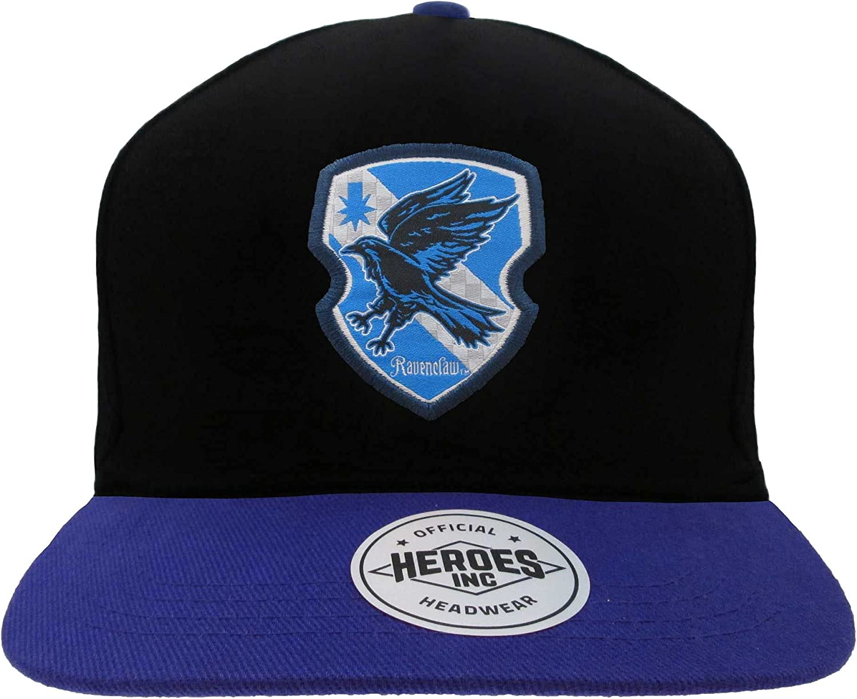 Harry Potter Ravenclaw Badge Snapback Cap Black/Blue