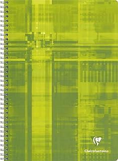 50 p/áginas 17 x 22 mm colores surtidos Cuaderno con espiral 5 x 5 Clairefontaine 8722C