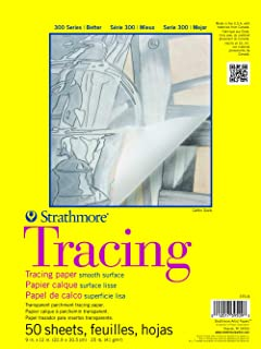 Strathmore ST370-9 9 in. x 12 in. Tape Bound Tracing Pad