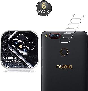 Owbb [6 Pezzi] Protettore Lente Fotocamera Posteriore per ZTE Nubia Z17 Mini Smartphone Alta trasparenza 7H Durezza Poster...