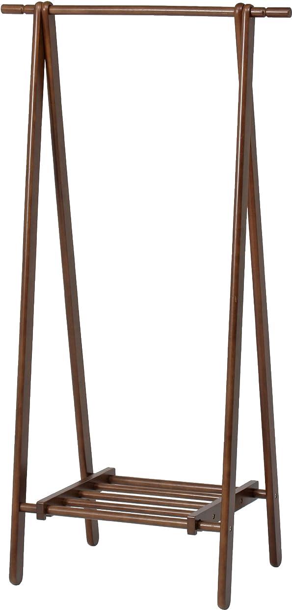 の面では他に臭い不二貿易 木製 ハンガー ブラウン 6110-6-80(KI) ハンガーラック コートハンガー  89251