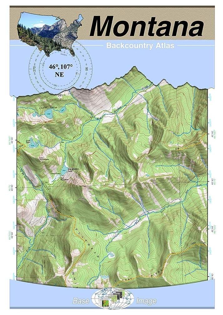 降下やるアクセシブル46°107° NE - Melstone, Montana Backcountry Atlas (Topo) (Montana Backcountry Atlas A4 25000 Scale) (English Edition)