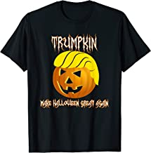 Funny Trumpkin I make Halloween great again T-Shirt