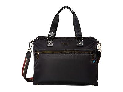 Hedgren 14 Appeal Large Handbag (Special Black) Handbags