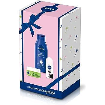 NIVEA Pack Básicos Mujer con 3 productos de baño, caja de regalo ...