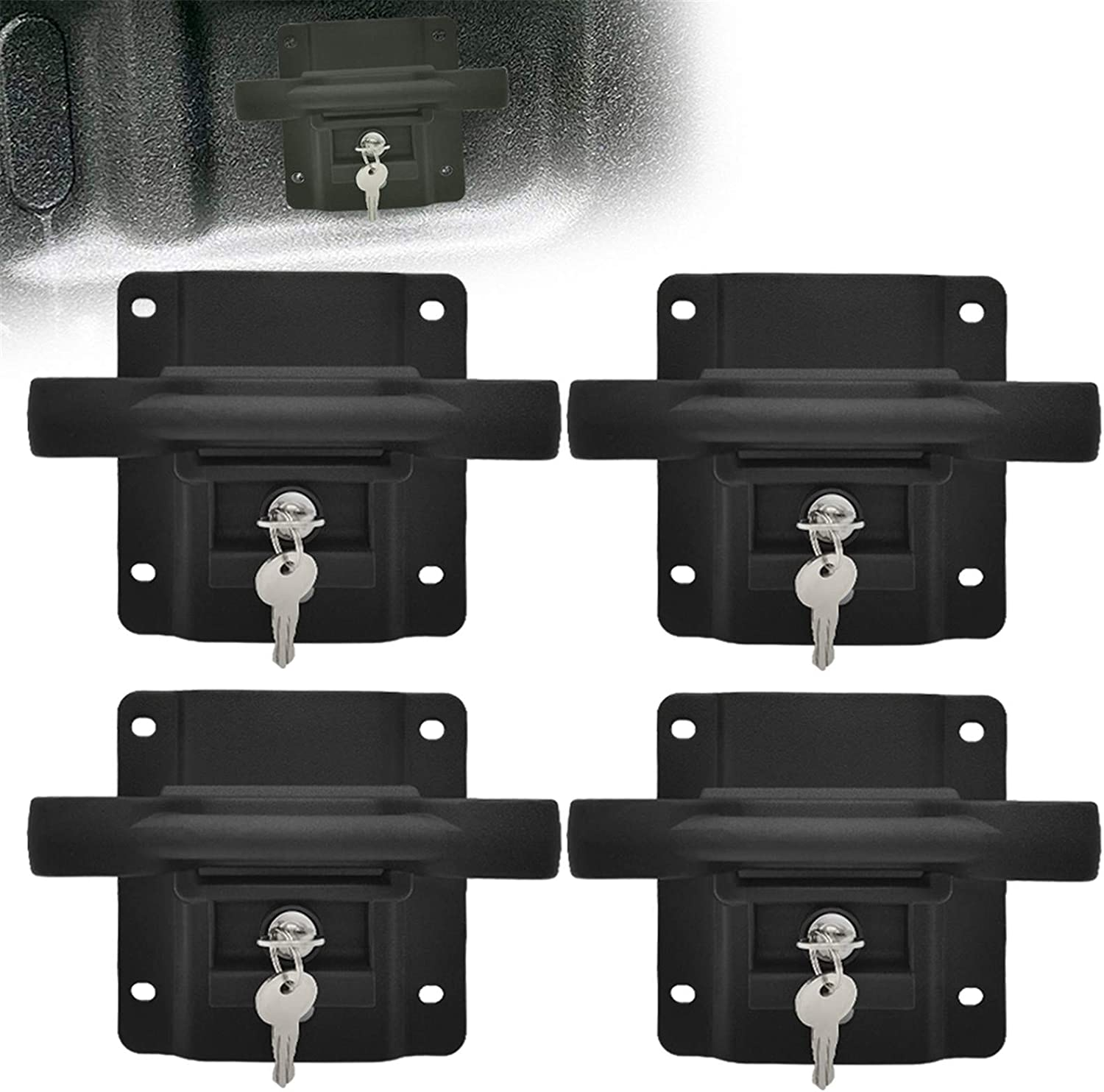 KAIRAY New York Mall Boxlink Truck Tie Down Brackets 4 Set Ranking TOP2 of Anchors