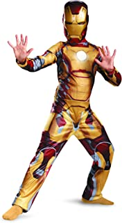 Marvel Iron Man 3 Mark 42 Boys Classic Costume, 10-12