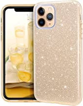Sponsored Ad - MATEPROX iPhone 11 Pro Max case,Bling Sparkle Girls Women Protective Case for iPhone 11 Pro Max 6.5 inch(Gold)