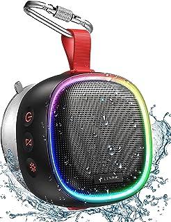 LENRUE F9 Bluetooth Speaker with RGB Lights, IPX7...