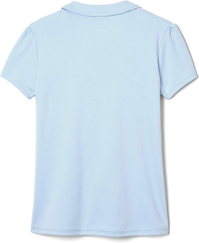 French Toast Girls Short Sleeve Peter Pan Collar Polo Shirt