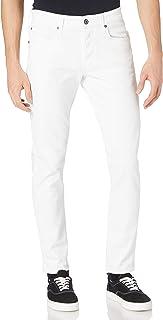 G-Star Raw Men's 3301 Slim Fit Jeans, White, 32W x 32L