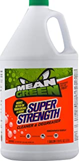 Mean Green Super Strength Cleaner and Degreaser, Concentrated Formula - 96 FL Oz / 2.84 L - Works on Tough Grease & Grime
