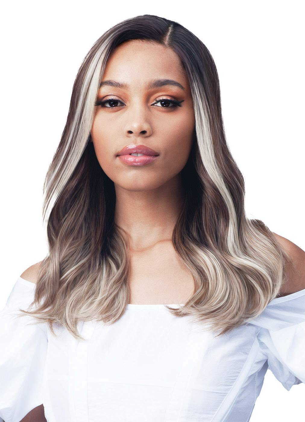 Bobbi Boss Long Curly Wigs- Atlanta Mall MLF235 Front Selling Lace 13X4 CALANDRIA HD