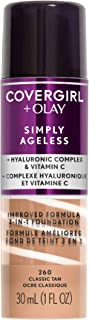 Covergirl Simply Ageless 3-In-1 Liquid Foundation (Packaging May Vary)