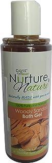Davis Finest Nurture Nature Sandalwood Body Wash Face Soap Moisturizing Shower Gel/Bath Gel for Men Women 210ml