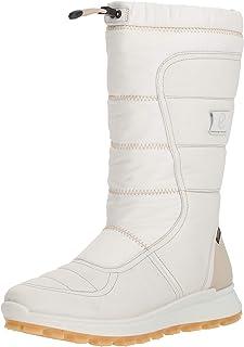 حذاء برقبة طويلة للنساء Exostrike Gore-Tex من Eco، أبيض، مقاس 41 M EU (10-10. 5 أمريكي)