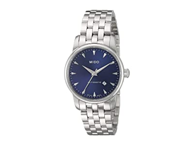 Mido Baroncelli Stainless Steel Bracelet M76004151 (Blue) Watches