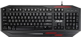 ASUS 90XB03R0-BKB010 ROG Sagatis GK100 游戲鍵盤 黑色/紅色
