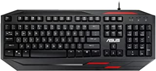 ASUS 90XB03R0-BKB010 ROG Sagatis GK100 游戏键盘 黑色/红色
