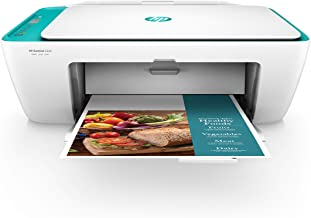 $99 » HP DeskJet 2640 All-in-One Wireless Color Inkjet Printer, Scan, Copy with HP Smart App, White/Teal, Y5H58A (Renewed)