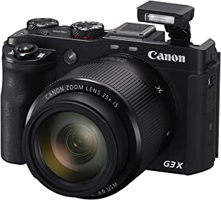 Canon PowerShot G3 X Digital Camera w/ 1-Inch Sensor and 25x Optical Zoom - Wi-Fi & NFC Enabled (Black)