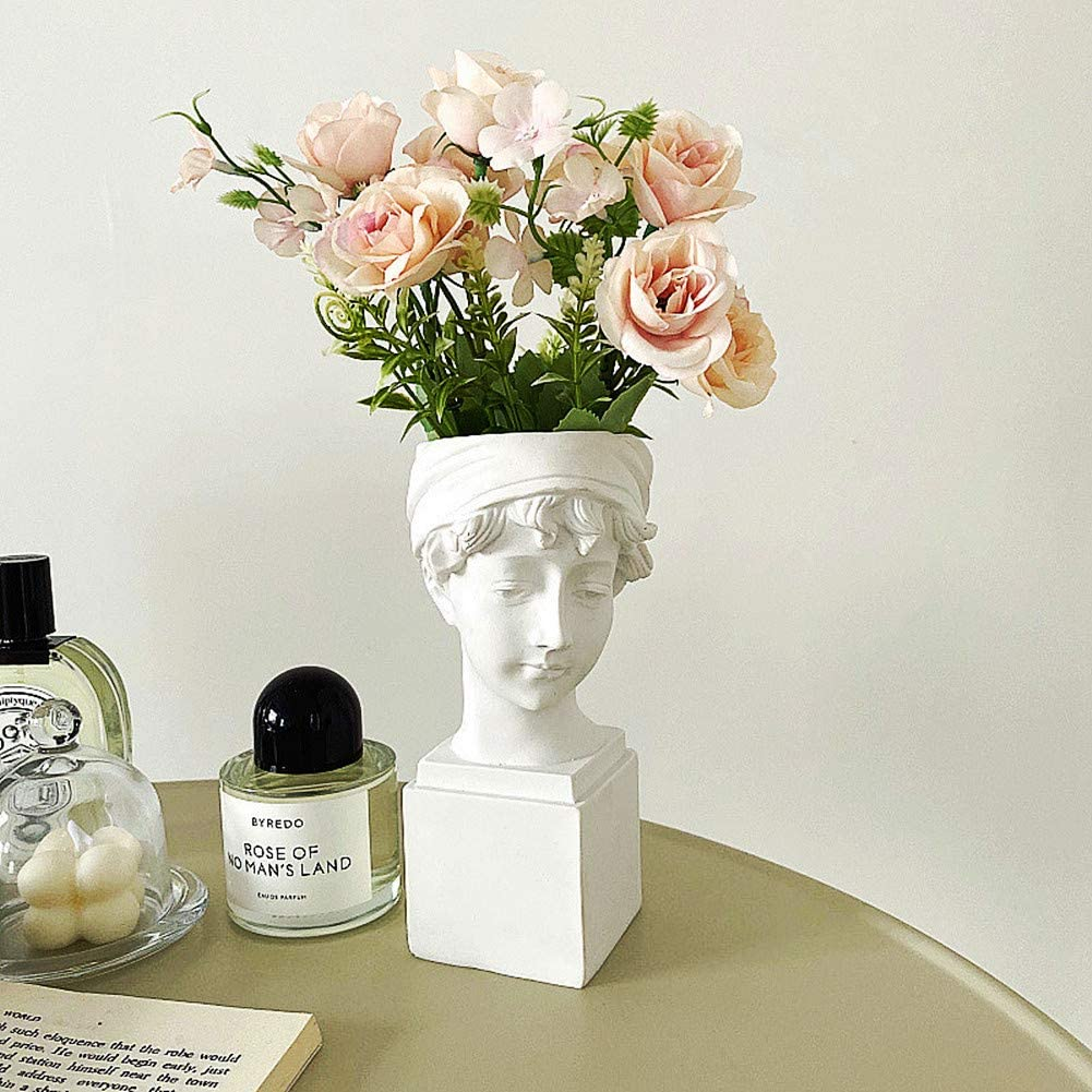 FunSpace Mail order Greek Sales of SALE items from new works Roman Style Statue Vase Flowers Planter Succulent
