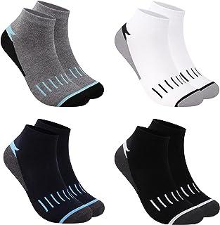 L&K Pack de 12 Calcetines de deporte Sneaker Cortos para hombre multicolor 2121