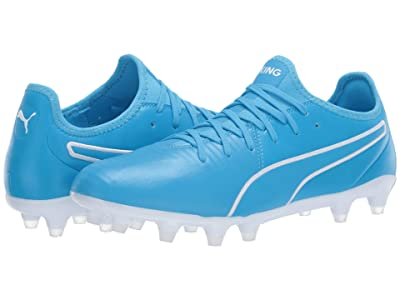 PUMA King Pro FG (Luminous Blue/Puma White) Men