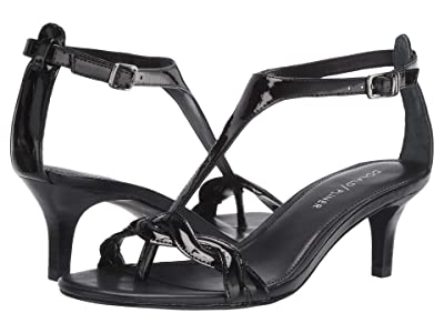 Donald J Pliner Kate (Black Patent) Women