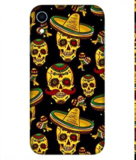 NalamiCases Mexican Skull Ringo Hard Printed Designer Case for Apple iPhone XR Back Cover DNL1892